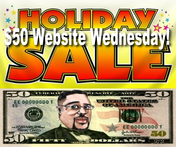$50 Dollar Website Wednesdays
