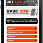 wheels and tires mobile site