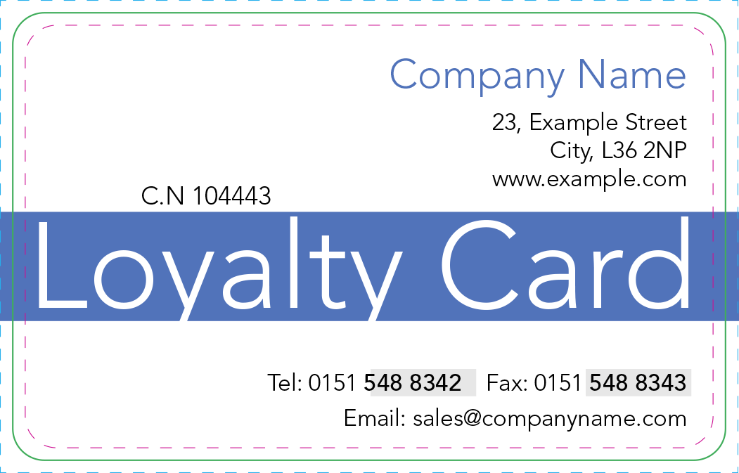 Smart Loyalty Card System Business In The Black - Loyalty card template word