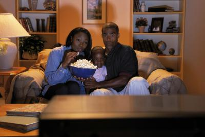 Blacks watch more television than anyone else.