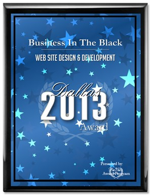 Business In The Black Receives 2013 Dallas Award