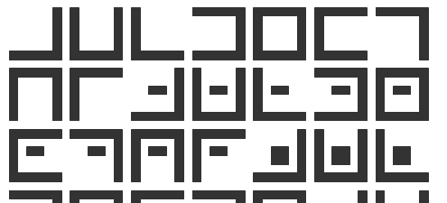 secret tic-tac-toe font